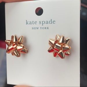 NWT ♠️✨Kate Spade Bourgeois Bow Earrings